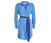 Blusenkleid aus Seide