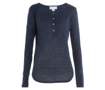 Henley-Shirt aus Leinen