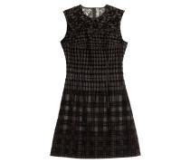 Cocktail-Dress mit Devoré-Muster