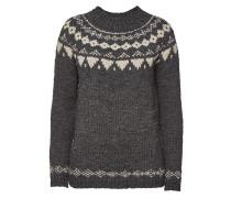 Norweger-Pullover aus Wolle und Alpakawolle