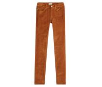 Skinny Pants aus Cord
