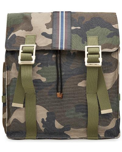 Camouflage-Rucksack aus Baumwolle
