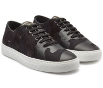 Sneakers New aus Leder, Veloursleder und Mesh