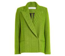 Gemusterter Mantel aus Wolle