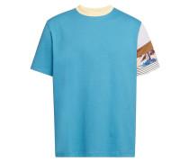 Gemustertes T-Shirt Eli aus Baumwolle