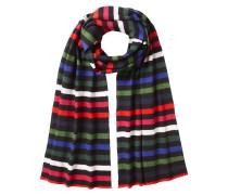 2m Gestreifter Schal aus Wolle