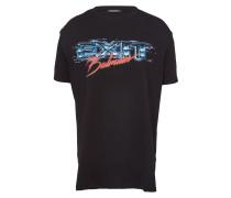 Oversized T-Shirt aus Baumwolle mit Print