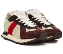 Sneakers Replica Runner mit Veloursleder und Mesh