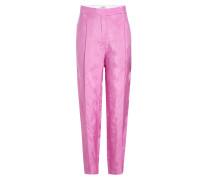 Geprägte Pants mit Cupro