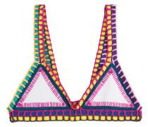 Bikini-Top Yaz mit Häkeldetails