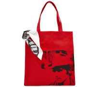 X Andy Warhol Bedruckter Shopper aus Baumwolle