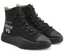 Bedruckte High Top Sneakers Bashyo