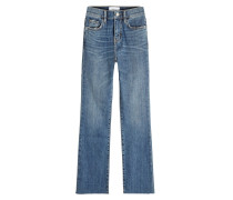Cropped Boot Cut Jeans The Kick