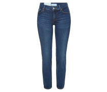 Mid Rise Skinny Jeans Roxanne Cropped