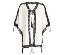 Kimono aus Baumwolle mit Zierborte
