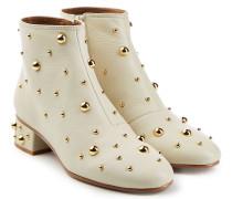 Verzierte Ankle Boots Jarvis aus Leder