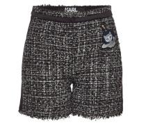 Verzierte Shorts Space Karl aus Bouclé