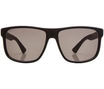 Sonnenbrille mit abgerundeten Gläsern