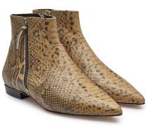 Ankle Boots Dawie aus Leder