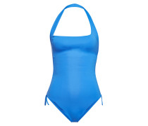 Geraffter One-Shoulder-Swimsuit Polynesia