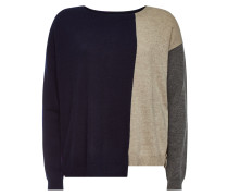 Color-Block-Pullover Hope aus Wolle und Kaschmir