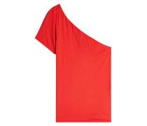 One Shoulder Top aus Baumwolle