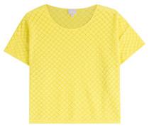 Gelbes Baumwoll-Top