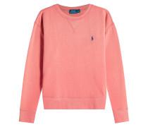 Sweatshirt mit Baumwolle und Logo-Stickerei