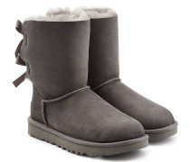 Boots Bailey Bow aus Veloursleder