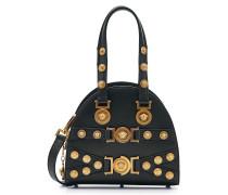 Verzierte Handtasche Tribute Medaillon aus Leder