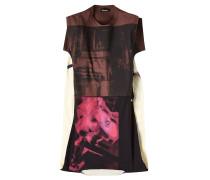 Bedrucktes Shirt aus Baumwolle im Patchwork Look