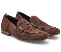 Loafers Bilt aus Veloursleder