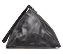 Geometrische Handtasche 3 Angle aus Leder