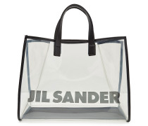 Transparenter Shopper mit Print