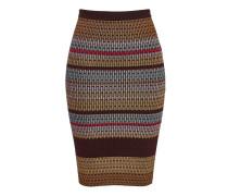 Pencil-Skirt aus Stretch-Strick