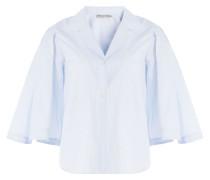 Gestreiftes Pyjama-Shirt aus Baumwolle