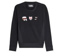 Sweatshirt Emoji Karl & Choupette