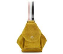Handtasche Micro Fernweh aus Veloursleder
