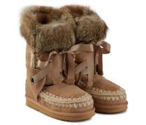 Boots Eskimo Lace mit Kaninchenfell