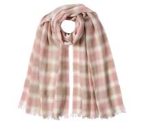 Karierter Schal mit Wolle