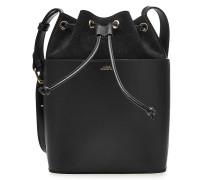 Bucket Bag Clara aus Glatt- und Verloursleder