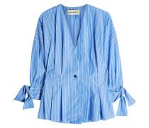 Gestreifte Bluse Trivano aus Baumwolle