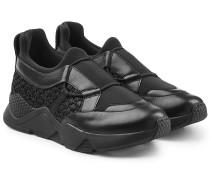 Sneakers Salvy mit Leder