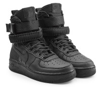 High Top Sneakers SF Air Force 1 mit Leder