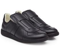 Leder-Sneakers Replica ohne Schnürung