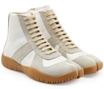 High Top Sneakers Tabi aus Leder mit Zehenspalte
