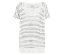 Gestreiftes Leinen-Shirt