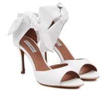 Sandalen Brigitte aus Leder mit Knoten-Detail