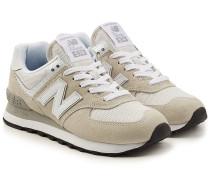 Sneakers WL574 B aus Veloursleder und Mesh