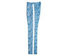 Bedruckte Straight Leg Pants mit Baumwolle
